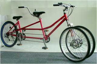 自転車の 大阪府 タンデム自転車 : ... 可能な二人乗りタンデム自転車